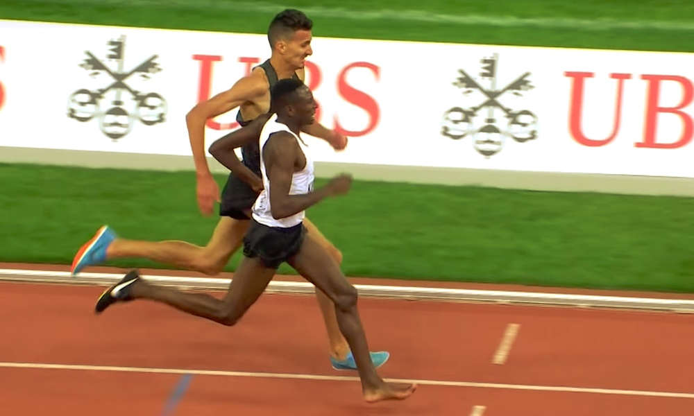 Kenian Conseslus Kipruto juoksi ilman toista piikkariaan Timanttiliigan kilpailun voittoon.