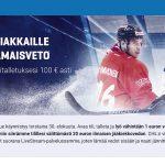 Nordicbetin uusille asiakkaille 20 euron CHL-ilmaisveto.
