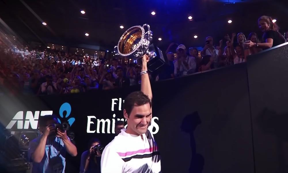 Roger Federer täyttää tänään 37 vuotta.