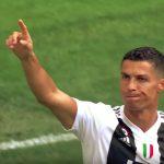 Cristiano Ronaldo avasi vihdoin maalitilinsä Juvessa, kun hän iski kaksi Sassuoloa vastaan.
