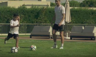 Cristiano Ronaldo Jr iski neljä maalia Juventus-debyytissään.