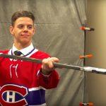 Jesperi Kotkaniemi aloittaa kautensa Montrealissa.