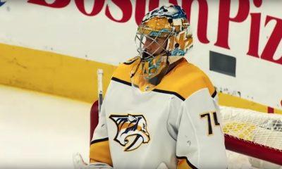 Juuse Saros sai loistavan startin NHL-kaudelle 2018-19, kun hän nollasi Florida Panthersin.