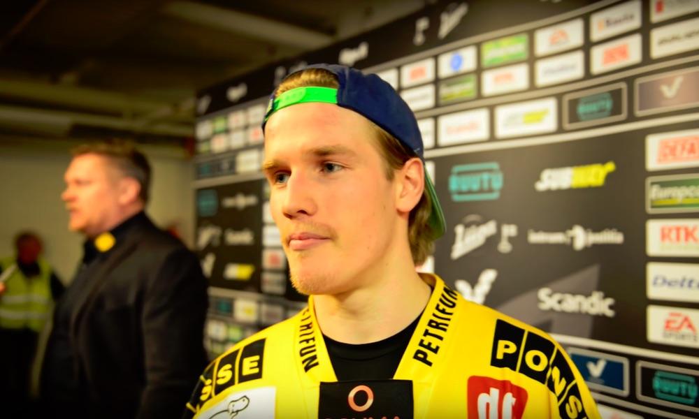 Juuso Riikola on tehnyt vaikutuksen Pittsburgh Penguinsin harjoitusleirillä.