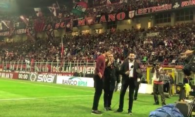 Kaka sai mielettömän vastaanoton palatessaan Milaniin.
