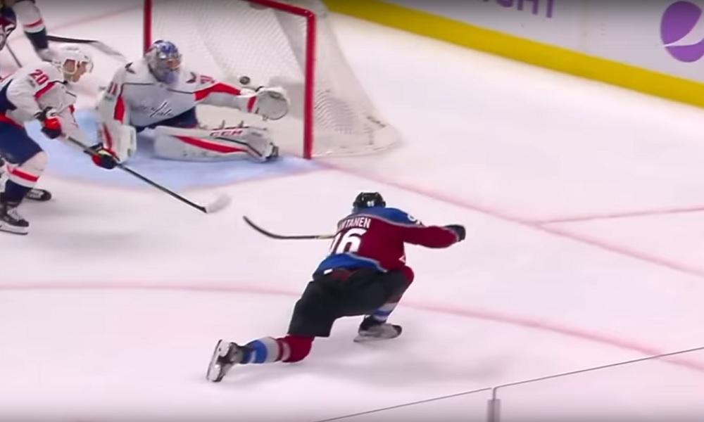 Mikko Rantanen valittiin lokakuun parhaaksi pelaajaksi NHL:ssä.