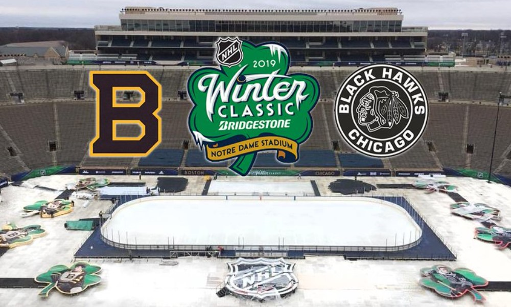 NHL Winter Classic 2019.