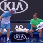 Kontinen ja Peers välieriin Cincinnatissa. Roger Federer joutui taipumaan venäläiskarsijaAndrei Rublevilletunnin ja kahden minuutin mittaisessa ottelussa.