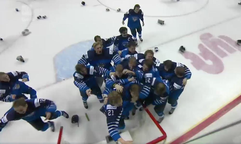 Nuoret Leijonat maailmanmestari; USA kaatui finaalissa 3-2, Kaapo Kakon maalilla.