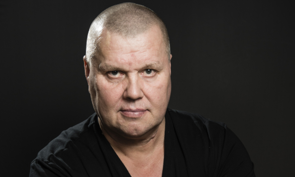 Timo Jutila yksinoikeudella yhdeksi Urheiluvetojen kasvoista.