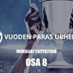 Urheiluvedot.com:n Vuoden Paras Urheilija -ehdokkaat esitellään kymmenosaisessa sarjassa - tämä on osa 8.