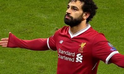 Mohamed Salah ajoi partansa.