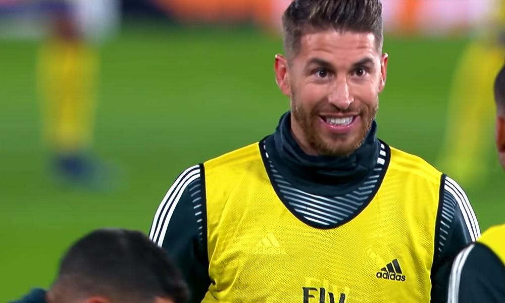 Sergio Ramosilta nähtiin hulvattoman näköinen kuitti Antoine Griezmannille.