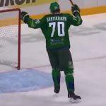 Salavat Julajev Ufan Kemppainen, Metsola ja Hartikainen huikeassa vireessä KHL pudotuspeleissä - tiputtivat runkosarjan ykkösen.