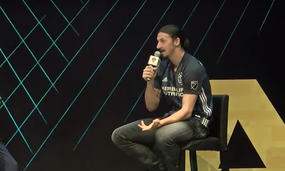 Zlatan tylytti MLS-pudotuspelejä.