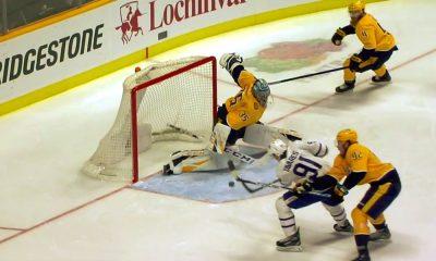 Nashville Predatorsin Pekka Rinne nollasi Toronton ja otti ottelussa täysin maagisen torjunnan.