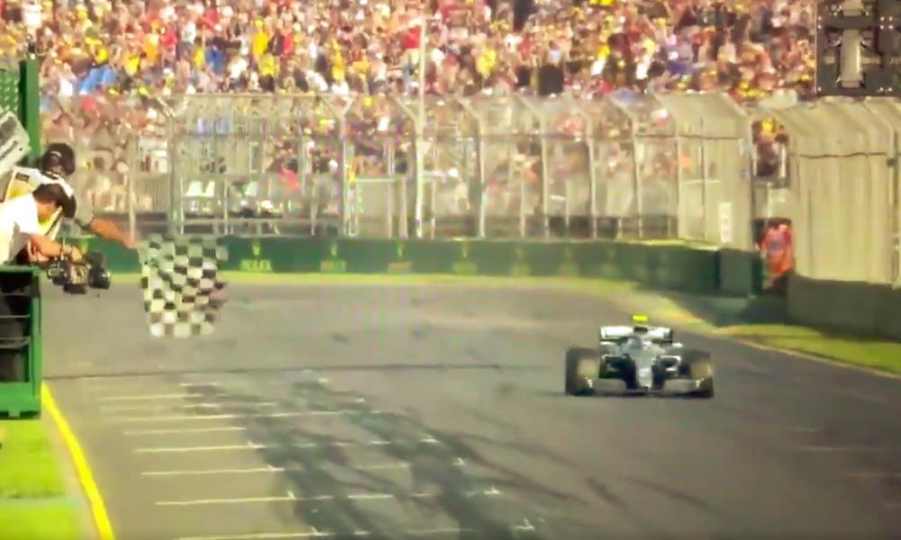 Valtteri Bottas uhosi tiimiradiossa voitettuaan Australian GP:n 2019!