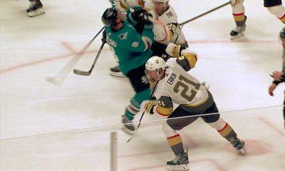 NHL myönsi tuomarivirheen ja pyysi anteeksi Vegas Golden Knightsilta San Jose Sharksia vastaan pelatun Game Sevenin tapahtumia.