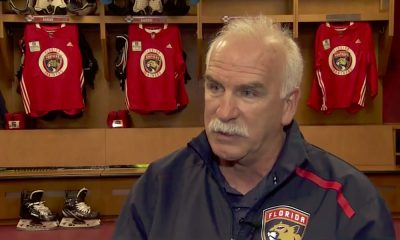 Florida Panthersin uudeksi päävalmentajaksi heti päättyneen runkosarjan jälkeen nimetty Joel Quenneville odottaa Barkovilta ja kumppaneilta paljon.