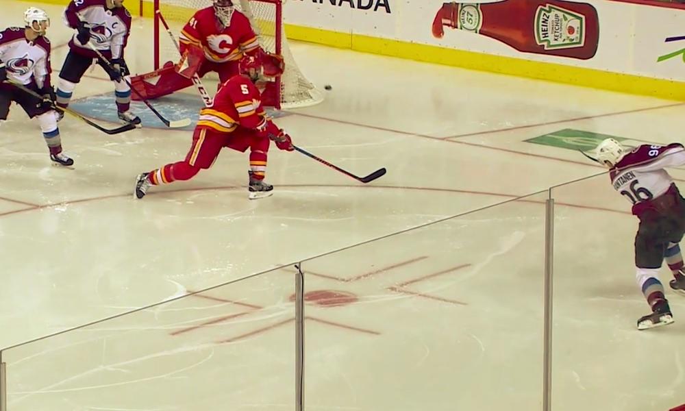 Mikko Rantanen takoi tehot 2+1, kun Colorado Avalanche päätti Calgary Flamesin kauden, ja venytti huiman pisteputkensa jo neljään otteluun.