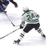 Roope Hintz fantastisessa vireessä, kun Dallas Stars nappasi vieraissa St. Louis Bluesilta voiton NHL:n pudotuspelejen toisella kierroksella.