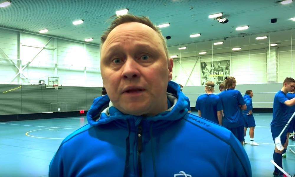 Päävalmentaja Atte Juuti näkee NHL:n roolin tärkeänä salibandyn laajenemiselle Pohjois-Amerikassa.