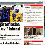 Koko Ruotsi kiljuu taas kilpaa Jättefiaskoa: Leijonat pudotti Tre Kronorin MM-kisojen 2019 puolivälierissä!