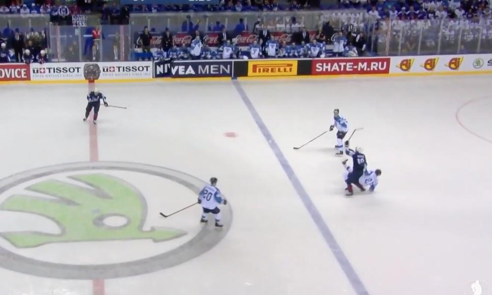 Leijonat kärsi epäoikeudenmukaisen tuomion Suomen ja USA:n välisessä -ottelussa, jossa USA ratkaisi ottelun vasta jatkoerässä lukemin 3-2.