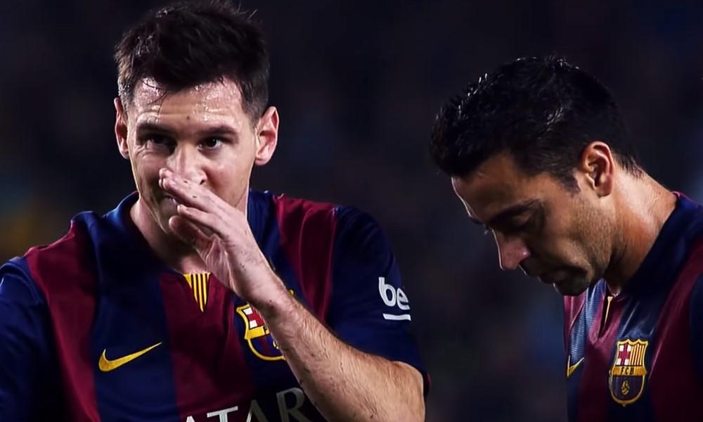 Lionel Messi julkaisi tunteikkaan viestin eläkkeelle jäävälle Xaville.