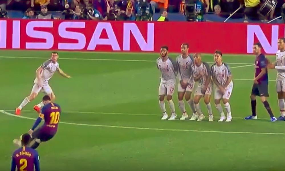 Lionel Messin 600. maali FC Barcelonalle oli mykistävä vaparimaali Liverpoolin verkkoon, Mestarien liigan välierien ensimmäisessä osassa.