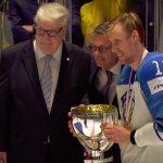 Leijonien kultakippari Marko Anttilaa huudetaan jo presidentiksi! Suomen tasavallan presidentti Sauli Niinistö vastasi humoristisella tavalla.