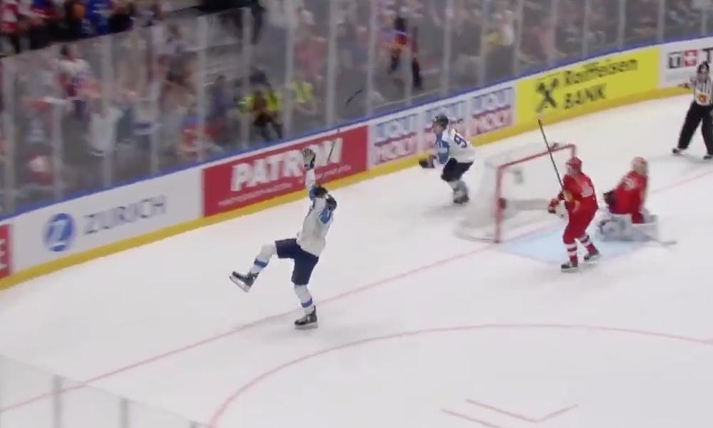 Leijonien kapteeni Marko Anttila on MM-turnauksen viidenneksi nopein luistelija alkulohkojen osalta!