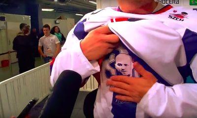 Slovakia-fanit muistivat upeasti menehtynyttä Pavol Demitraa, kun kisaisännän MM-kisat päättyivät alkulohkon päättäneeseen voitokkaaseen Tanska-otteluun.