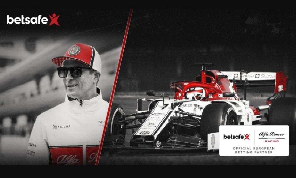 Alfa Romeo Racing ja peliyhtiö Betsson Group yhteistyöhön.