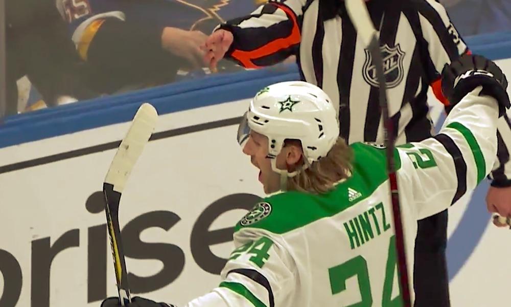 Roope Hintz uhkaa jo Leinoa ja Donskoita, mitä tulee NHL:n kaikkien aikojen tehokkaimpiin suomalaistulokkaisiin pudotuspeleissä.