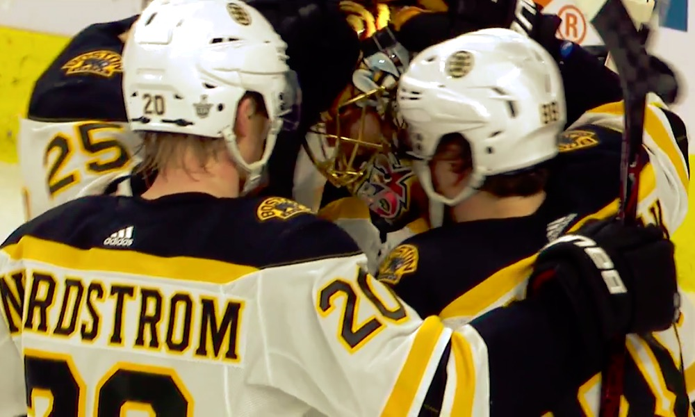 Tuukka Rask ohitti Rinteen ja nousi NHL:n historiassa kaikkien aikojen eniten pudotuspeliotteluita voittaneeksi suomalaisvahdiksi.