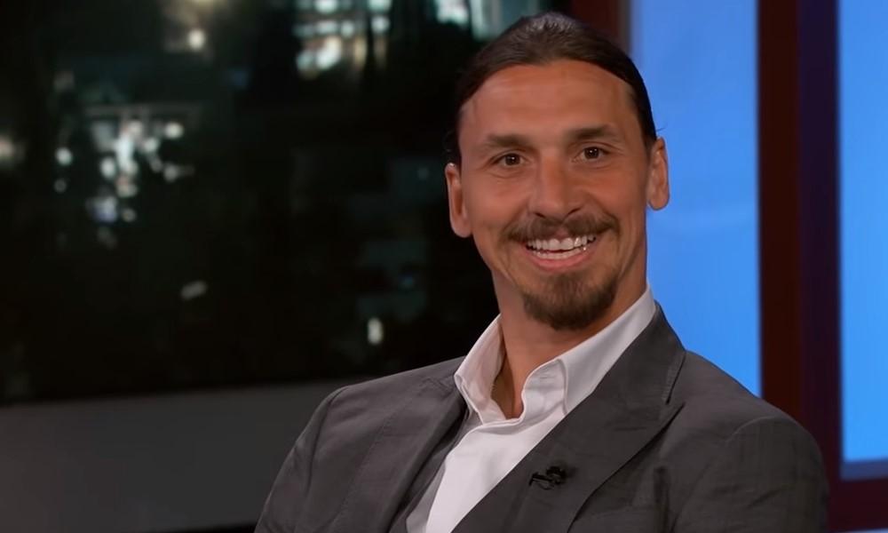 Zlatan Ibrahimovic kävi käsiksi maalivahtiin.