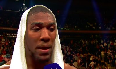 Drake-kirous iski myös Anthony Joshuaan, joka koki shokkitappion Andy Ruiz Juniorille.