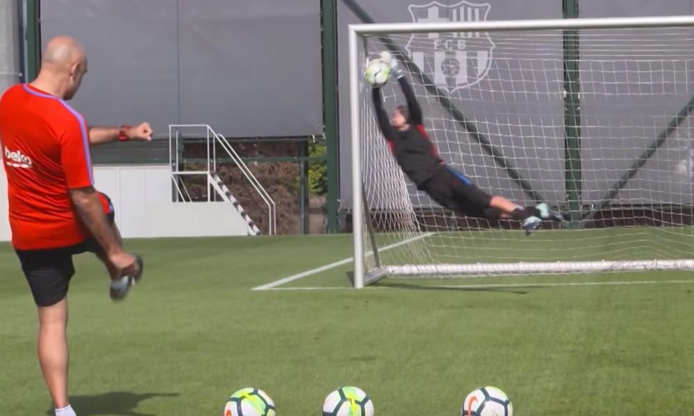 Barcelona ja Valencia vaihtoi maalivahteja.