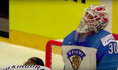 Kevin Lankinen löi MM-jäillä tukun huippuvahteja - muun muassa idolinsa Henrik Lundqvistin.