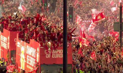 Yli 750000 Liverpool-fania juhli kaduilla, kun joukkue saapui Mestarien liiga -pystin kanssa kotiin!
