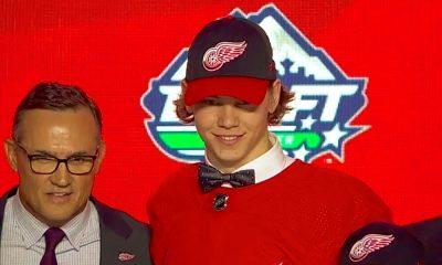 NHL Draftissa saksalaisyllätys: Detroit Red Wings varasi koko vuoden 2019 varaustilaisuuden kuudentena pelaajana saksalaispuolustaja Moritz Seiderin.