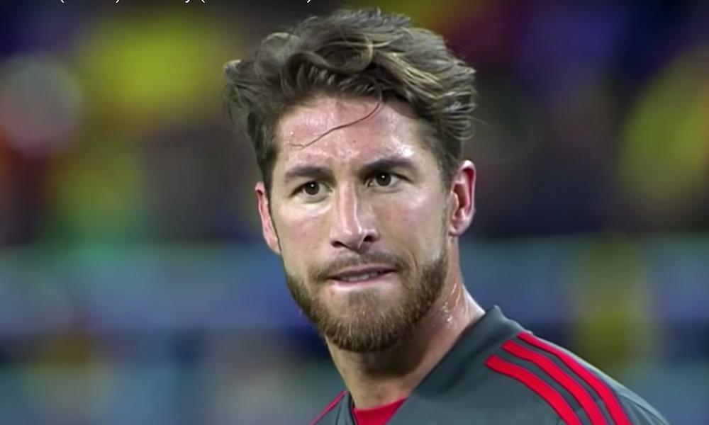 Sergio Ramosilta ihastuttava teko Moratalle EM-karsinta -ottelussa, kun Espanja löylytti Ruotsia maanantaina lukemin 3-0.