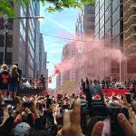 Toronto sekosi ja yli 2 miljoonaa ihmistä juhli NBA-mestaruutta maanantaina!