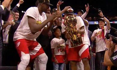 Toronto Raptors voitti NBA-mestaruuden, kun kuudennessa ottelussa kaatui kaksi vuotta mestaruuden nimiinsä vienyt Golden State Warriors lukemin 114-110.