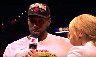 MVP Kawhi Leonard jättää Toronton ja siirtyy Los Angeles Clippersiin.