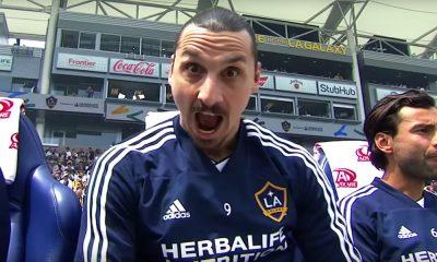 Zlatan täräytti hattutempun lauantain vastaisena yönä, kun Los Angeles Galaxy kaatoi Los Angeles FC:n kotistadionillaan lukemin 3-2.