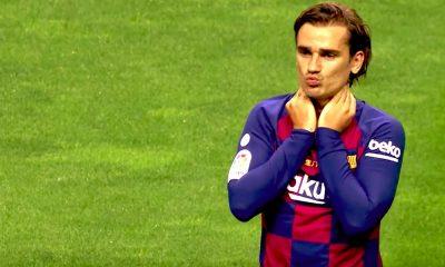 FC Barcelonan tuore huippuhankinta Antoine Griezmann liekeissä kotidebyytissään - onnistui kahdesti maalinteossa ja syötti yhden.