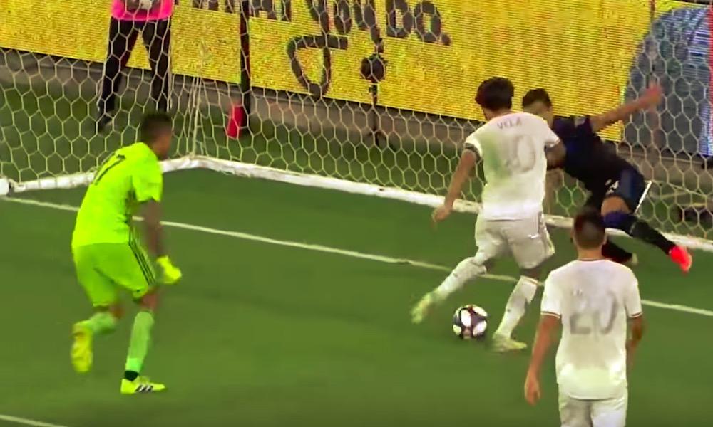 MLS-tähti Carlos Vela teki uskomattoman maalin San Jose Earthquakesia vastaan.