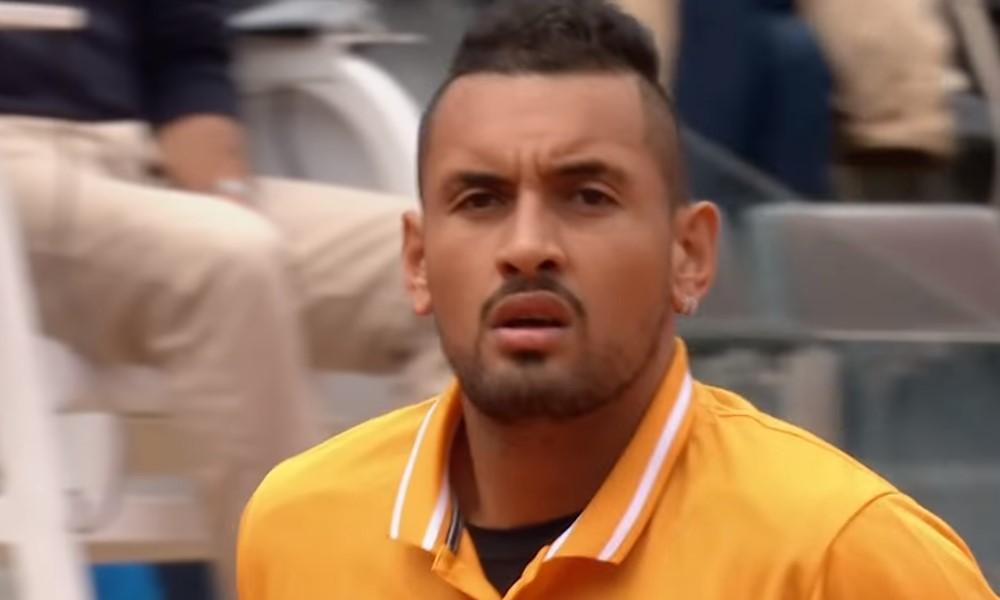 Nick Kyrgios menetti malttinsa ATP-turnauksessa Cincinnatissa. 24-vuotias australialainen lähti vessatauolle ilman tuomarin lupaa.